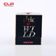 Hot sale elegant plastic hair extension packaging box hair packing box