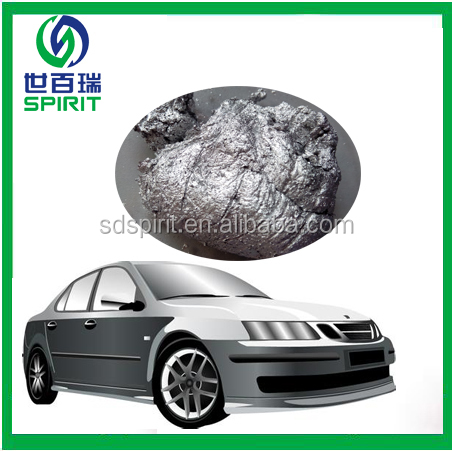 metallic effect aluminum past for automotive paint