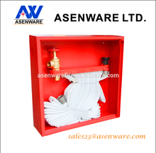 Fire hose cabinet box for fire protection