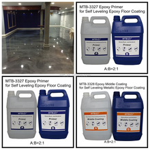 Anti-static Metallic Epoxy Floor Coating