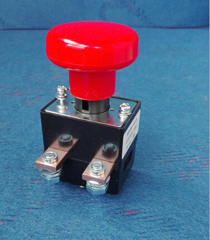 125A 12v/24v/36v/48v/60v/72v/96v/120v Emergency switch/Emergency stop switch/Emergency Power Off Switch