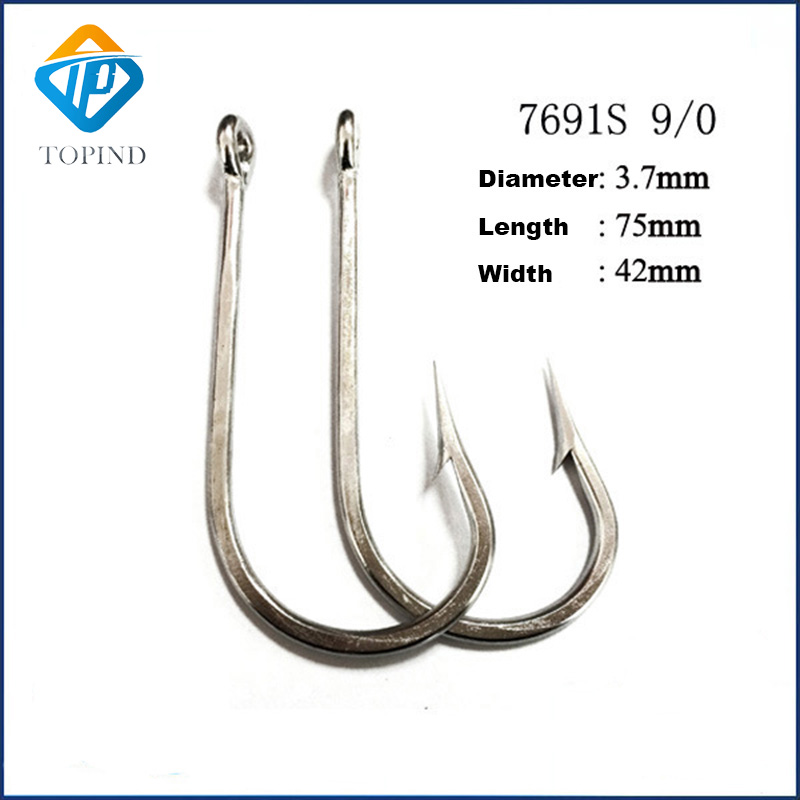 Wholesale Quality Stainless Steel Hooks 7691S Special Offer Fishing Hook