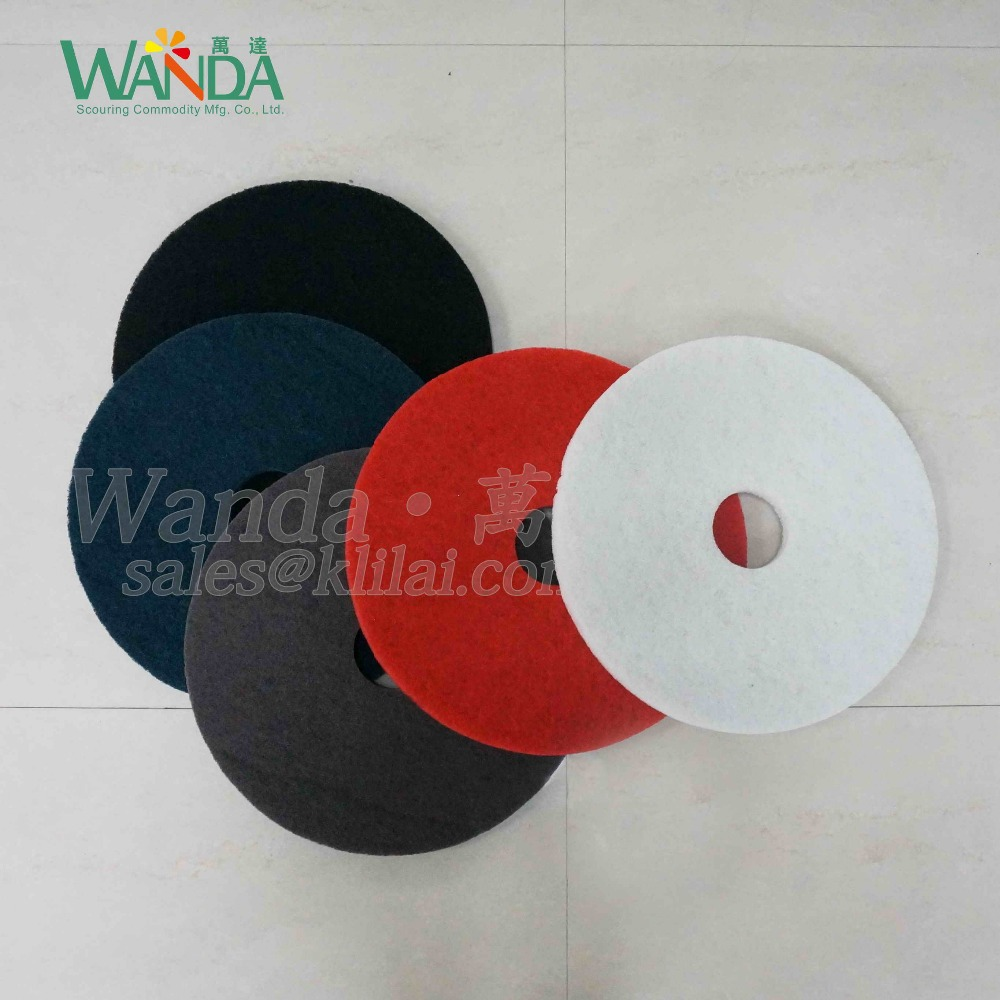 Colorful Marble Floor Polishing Stripper Pad