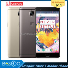 "One plus 3T Oneplus 3T Oneplus three T A3010 LTE 4G Mobile Phone Snapdragon 821 5.5"" Android 6.0 16MP Fingerprint ID NFC"