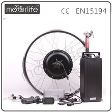 MOTORLIFE/OEM CE ROHS pass electric bike kit 5000 watt hub motor