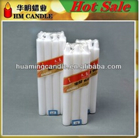 15g white candle for household/ paraffin wax