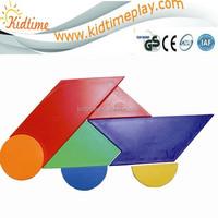 intelligent toy plastic tangrams