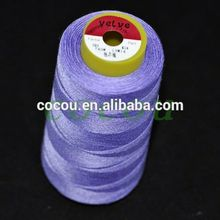 100% cone polyester sewing thread