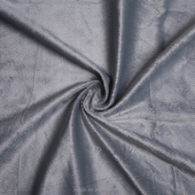 Super soft touch and washed style polyester material tinsel suit fabric