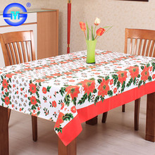 Accept Custom Order vinyl Christmas felt backed flannel backed tablecloths