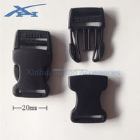 Quick released beg buckle high quality plastic buckles for camping tents XH002