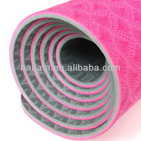 Top quality customized TPE natural rubber yoga mat