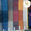 sheer curtain vertical stripe polyester curtain fabric Stripe fabric for curtain