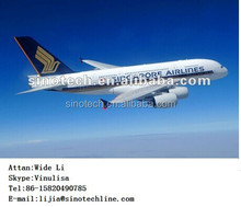 Airfreight shipping from China to Berlin Tegel by ETIHAD CRYSTAL CARGO