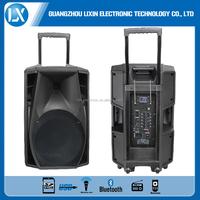 power trolley active pa speaker manufacturer/10 inch professional trolley speaker