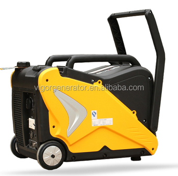 China Factory Mini Portable Ultra-quiet Dual Fuel (Gas and Gasoline) 3000 watt with ATS
