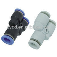 8mm to 6mm Reduce fitting Pneumatic PU Straight plastic tube fitting reducer