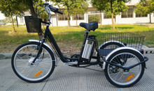 three wheel electric bicycle bike cargo with alloy frame