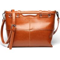 Custom Newest Fashion Genuine Leather Womens Handbag Europen Style Ladies Clutch Shoulder Tote Handbags