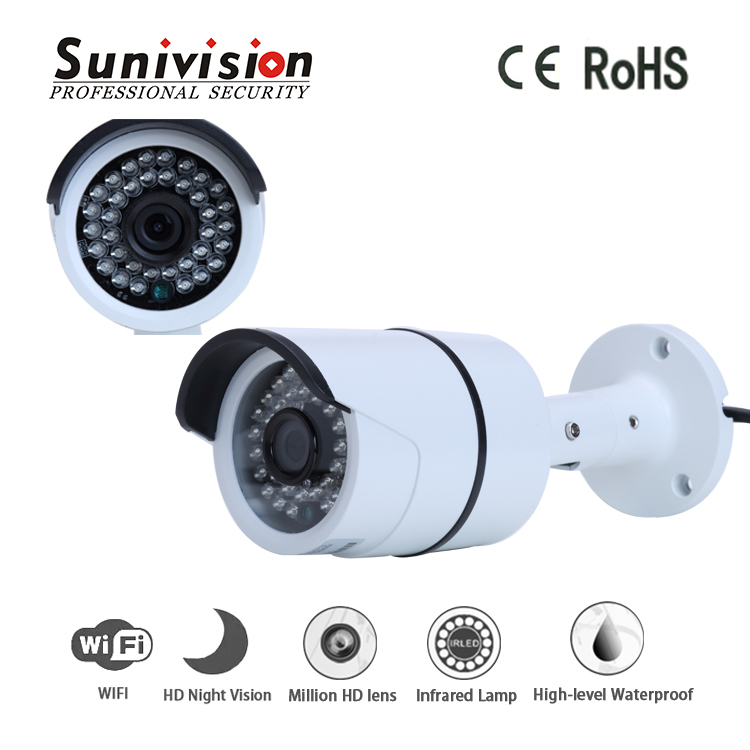 High quality 5Mp vandapproof h.265 outdoor bullet wifi ip camera