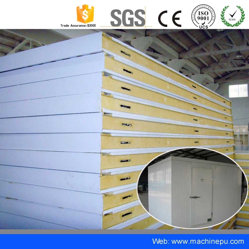 China cold room manufacturers / Color Steel Surface / broken solar panel for sale