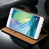 2015 Newest Wallet Leather Case Smooth leather case For Samsung Galaxy Alpha A7 case,for samsung Galaxy A700 case,for samsung A7