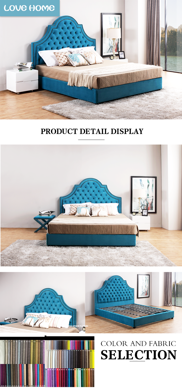 Chinese manufacturers sales low price plywood double bed