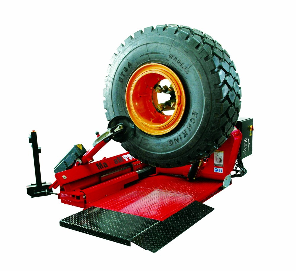"HL-5980 Max 56"" CE Full-Automatic Super Truck Tyre changer for Heavy Truck,Bus, Tractor and Earthmoving Wheels with ITALIAN PUMP"
