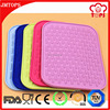 Promotional gift silicone hot pad, wholesale silicone drink coasters, durable silicone dish drainer
