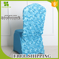 Free Shipping rosette spandex/lycra chair cover strong elastic wedding chair cover for thick fabric