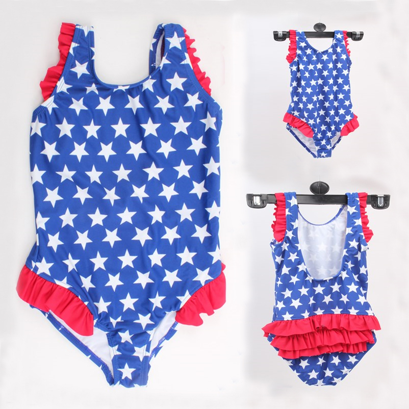One Piece Newest Children Boby Girls Swimwear Kids Swimsuit