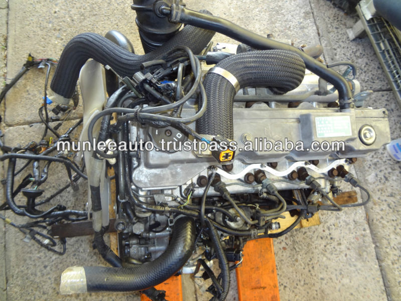 JDM Used Diesel Engine MT AWD Trans Suit Fit For Vehicle Mitsubishi Pajero Montero Delica JDM 4M40 2.8L Turbo