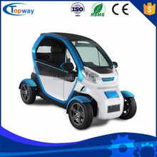 Driving speed 30-35km/h Mobility 4 Wheel 2 seats Electric Mini Car