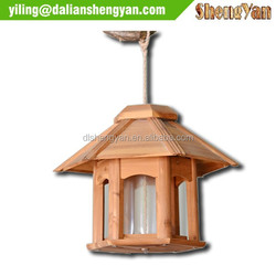 Garden wood bird breeding cages, bird feeder