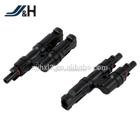 TUV IP67 2.5/4/6/mm2 Male Female MC4T MC4Y Solar Cable Branch Connector