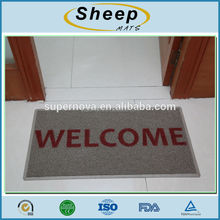 custom entrance welcome print door mat