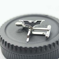 Batman Dark Knight Emblem Badge cuff links CL-13