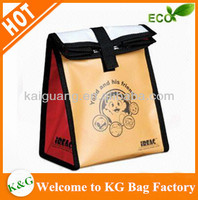 non woven folding wine cooler bag lunch bag for promotion