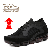 CF New Arrival 2018 Black Elevator Height Increasing Sports Air Sole Shoes max