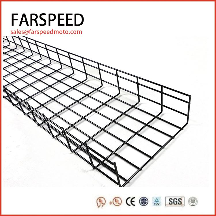 Acid washing hot dipped galvanized electric wire mesh cable tray