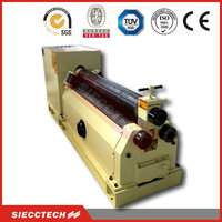 3 ROLLER SHEET METAL PYRAMID BENDING ROLL MACHINE WITH CONE ROLL AND PROFILE BENDING CAPABILITY