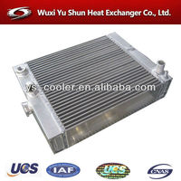 chinese manufacturer of hot sale and high performance customizable aluminum iveco truck radiator
