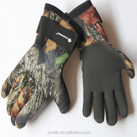 Leather Winter Hunting Shooting Gloves