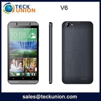 V6 5.5nch cheap big screen android mobile phone quad band dual core 3g cell