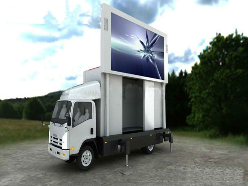 Shanghai led truck/ mobile led advertising vehicles/ movable led display truck