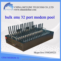 High Quality GSM modem 32 port sms software for usb modem pool/gsm gateway sim box/sending message fast and stable