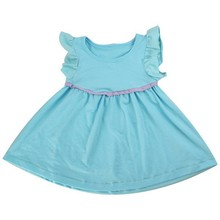2015 latest cheap china wholesale clothing tunic ruffle dress baby clothing