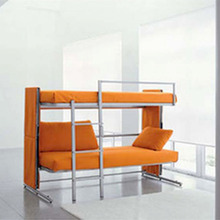 Modern Furniture Folding Sofa Bunk Bed Metal Frame Designs