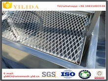 Customized expanded metal mesh for bbq