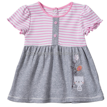 Comfortable children's clothes 100% cotton summer little girl dress
